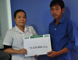 Bạn đọc giúp bé Giàng Thị Pàng bị tim bẩm sinh hơn 72 triệu đồng