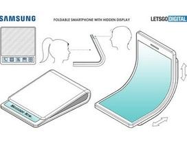 Smartphone có thể gập được của Samsung lộ thiết kế cực kỳ độc đáo