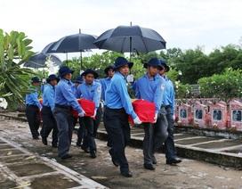 An Giang, Đồng Tháp cải táng hơn 250 hài cốt liệt sỹ