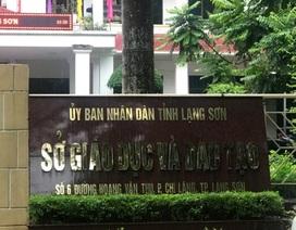 """Đại diện Bộ GD&ĐT tại Lạng Sơn: """"Đang rà soát, đối chiếu tất cả quy trình thi, chấm thi"""""""