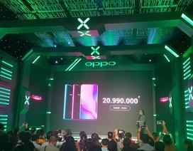 Oppo Find X chính thức ra mắt, giá 20,9 triệu đồng