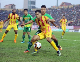Thi đấu sân nhà không khán giả, Nam Định cầm hoà Quảng Nam