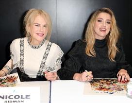 Amber Heard đọ sắc với Nicole Kidman