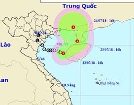 Áp thấp nhiệt đới trên Biển Đông có khả năng tiếp tục mạnh thêm