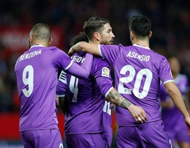 Ramos tiết lộ chủ nhân chiếc áo số 7 tại Real Madrid