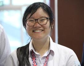 Nữ sinh Việt Nam được tôn vinh chiến thắng với số điểm cao nhất Olympic Sinh học quốc tế