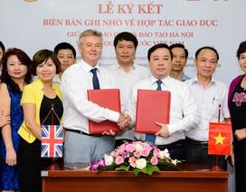 Sở GD-ĐT Hà Nội hợp tác cùng Đại học Anh Quốc Việt Nam triển khai chương trình đào tạo quốc tế IGCSE và A-level