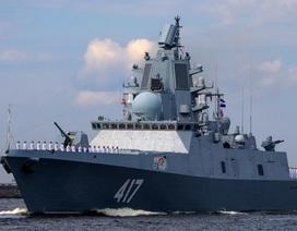 Dàn tàu chiến hiện đại tăng cường uy lực Hải quân Nga