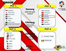 Bốc thăm lại bóng đá nam Asiad 2018: Các nước vẫn chờ Indonesia