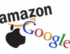 """Apple tiến sát """"đích"""" công ty nghìn tỷ USD đầu tiên, Amazon và Google bám đuổi"""