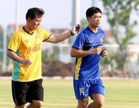 Công Phượng dính chấn thương, U23 Việt Nam chỉ có 15 cầu thủ tập luyện