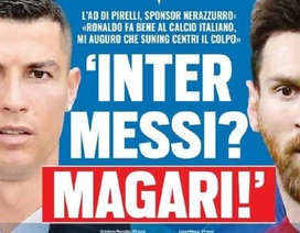 Báo giới Italia gây sốc khi đưa tin Messi gia nhập Inter Milan
