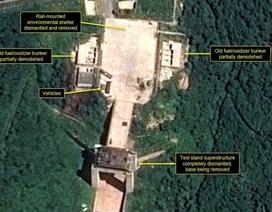 Triều Tiên bắt đầu dỡ bỏ bãi thử tên lửa quan trọng