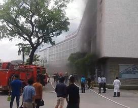 Cháy hội trường Đại học Y Dược
