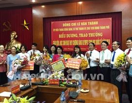 Hải Phòng: Trao thưởng 500 triệu đồng đến học sinh đoạt HCV Olympic Sinh học Quốc tế