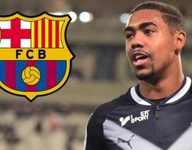 Bất ngờ trở mặt với Roma, Malcom gia nhập Barcelona