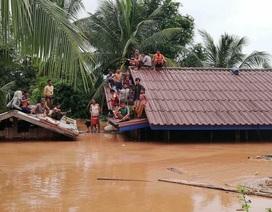 Lực lượng quân khu 5 đã sang Lào giúp khắc phục sự cố vỡ đập thủy điện