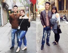 7 năm yêu nhau, cặp đôi này đã hoán đổi cân nặng ngoạn mục