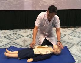 Cách mở đường thở, ép tim ai cũng có thể làm để cứu bệnh nhân đuối nước