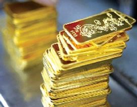 Giá vàng sụt giảm, thu hẹp khoảng cách chênh lệch
