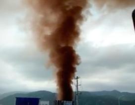 """Cột khói đen ở Nhiệt điện Vĩnh Tân 1: Chủ đầu tư Trung Quốc nói """"bình thường"""""""