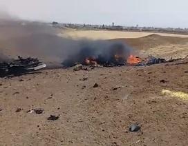 IS công bố video đầu tiên về Su-22 của Syria bị Israel bắn rơi