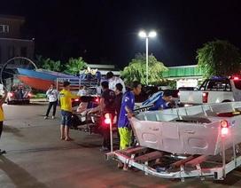 Nhóm giải cứu đội bóng Thái Lan đến Lào hỗ trợ