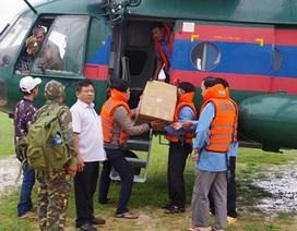 Bộ Quốc phòng điều gần 1.000 chiến sĩ sang Lào ứng cứu vụ vỡ đập thuỷ điện