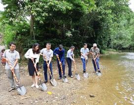 Khởi công xây dựng cầu Dân trí thứ 15 tại Hà Giang