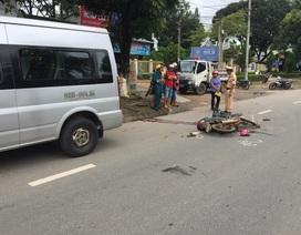 Chú chết thảm, 2 cháu nhỏ bị thương sau cú va chạm với ô tô