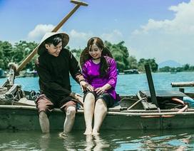 Ảnh cưới tái hiện cuộc sống dân vạn chài trên dòng Hương Giang