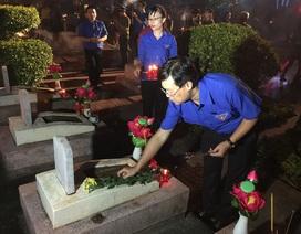 Trung ương Đoàn long trọng tổ chức lễ thắp nến tri ân các anh hùng, liệt sỹ