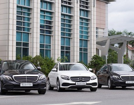 Mercedes-Benz E-Class liên tục hút khách hàng mảng khách sạn cao cấp
