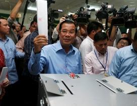 Lãnh đạo Việt Nam chúc mừng Campuchia bầu cử Quốc hội thành công