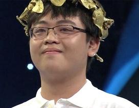 Nam sinh Nam Định chiến thắng thi tuần Olympia với số điểm cao 370