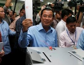 Đảng của Thủ tướng Hun Sen tuyên bố chiến thắng trong tổng tuyển cử Campuchia