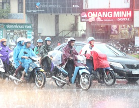 Hà Nội tiếp tục mưa lớn, miền núi phía Bắc đề phòng lũ quét