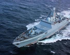 Uy lực công, thủ toàn diện của tàu hộ vệ tàng hình mới gia nhập hải quân Nga