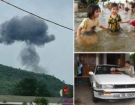 Máy bay quân sự rơi và anh nông dân vay tiền mua ô tô cấp cứu người miễn phí
