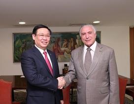 Brasil coi trọng vị thế của Việt Nam tại khu vực Đông Nam Á