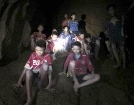 Đội bóng Thái Lan được tìm thấy ở sâu trong lòng đất 1km