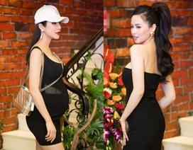 """""""Bà bầu"""" Diệp Lâm Anh vẫn sexy khó cưỡng, hot girl Tâm Tít khoe đường cong bốc lửa"""