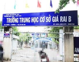 Bạc Liêu: Giáo viên tố nhiều vấn đề tại Trường THCS Giá Rai B