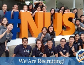Ban tuyển sinh NUS giải đáp học bổng & 31 ngành cử nhân
