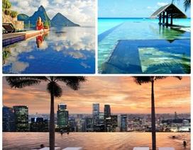 Hồ bơi vô cực D'. Le Roi Soleil - viên kim cương xanh của bán đảo Quảng An