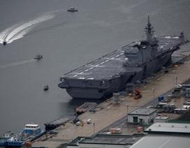 Nhật Bản điều tàu chiến lớn nhất tới Biển Đông