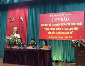 Bộ Quốc phòng hội thảo khoa học về chiến thắng Đường 9 - Khe Sanh
