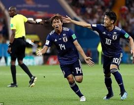 Sự chia tay tiếc nuối của đội tuyển Nhật Bản tại World Cup 2018