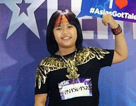 """""""Thần đồng đánh trống"""" Trọng Nhân tham gia vòng loại Asia's Got Talent"""