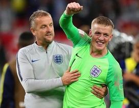 """Hé lộ bí kíp để Pickford giúp đội tuyển Anh thắng ở loạt """"đấu súng"""""""